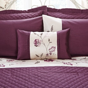 Verity Plum Boudoir Cushion