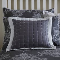 Versailles Charcoal Filled Cushion