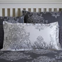 Versailles Charcoal Oxford Pillowcase