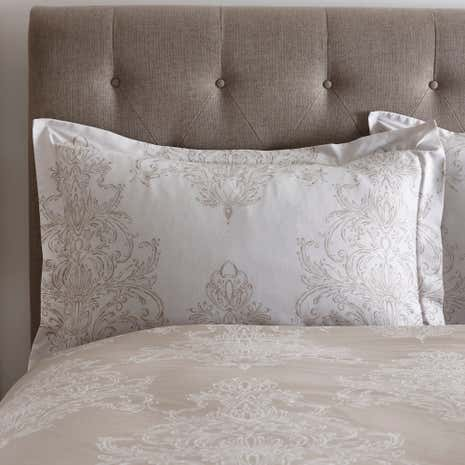 Versailles Natural Oxford Pillowcase