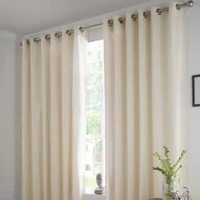 Walton Green Thermal Eyelet Curtains