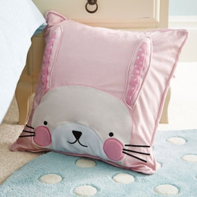 Matilda Pink Square Cushion