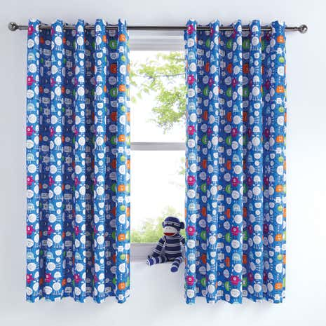 Monsters Blackout Curtains