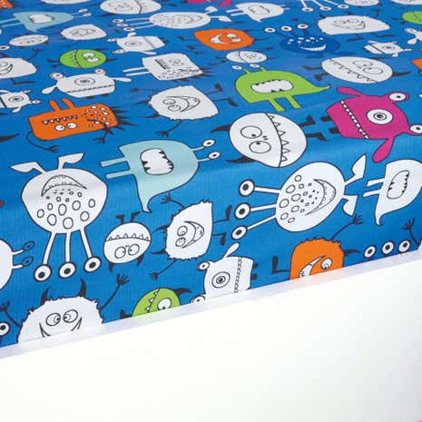 Monsters Single Fitted Sheet