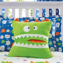 Monsters Square Cushion