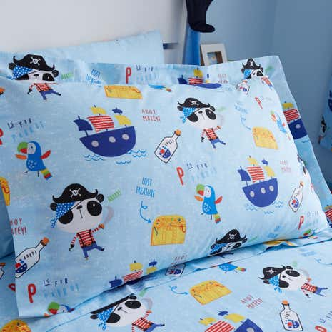 Pirate Panda Oxford Pillowcase
