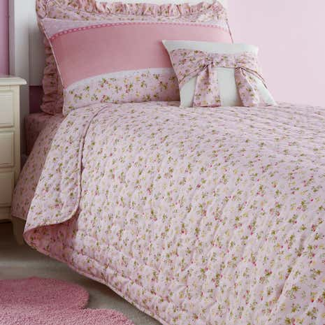 Polly Pink Bedspread
