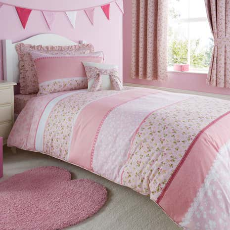 Polly Pink Duvet Cover Set
