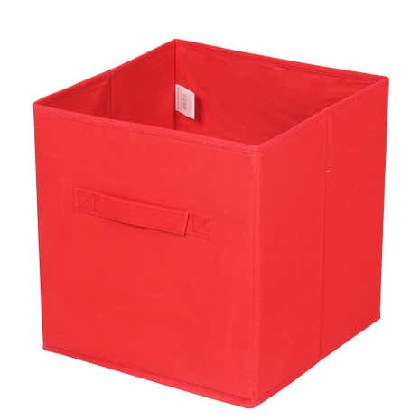 Perfect Red Non Woven Storage Box