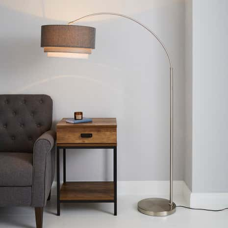 Eclipse 3 tier floor lamp dunelm eclipse 3 tier floor lamp mozeypictures Image collections