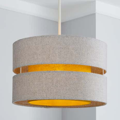 Ochre Frea Lennox Light Shade