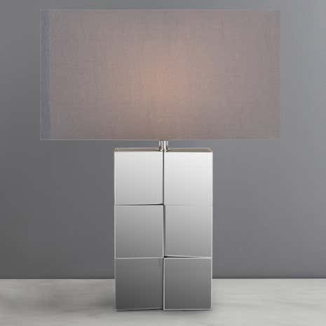 Hotel Aldelphi Mirror Table Lamp