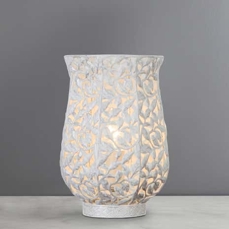 Ivy White Table Lamp