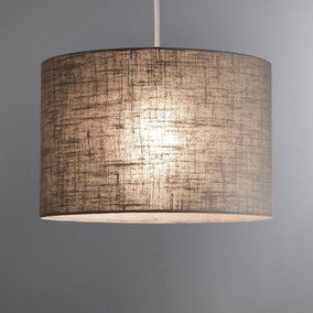 Leo Ochre Drum Shade