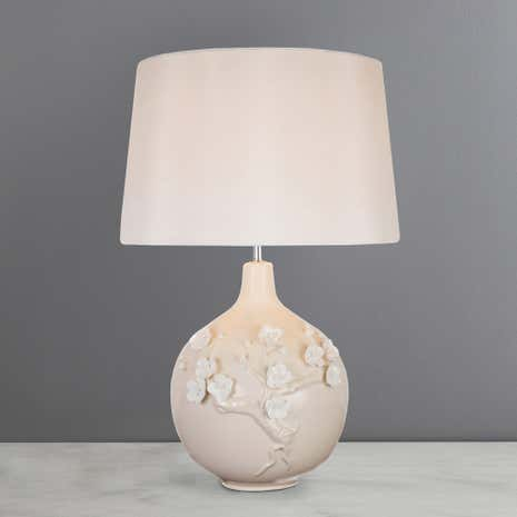 Lola Blossom Cream Table Lamp