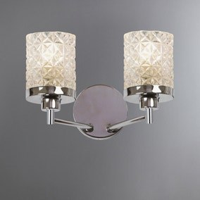 Satine 2-Light Wall Light