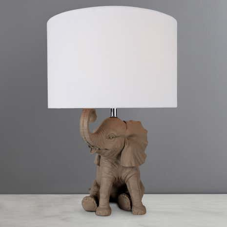 Savannah Elephant Table Lamp
