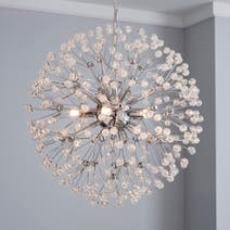 Serena Chrome Ceiling Light Fitting