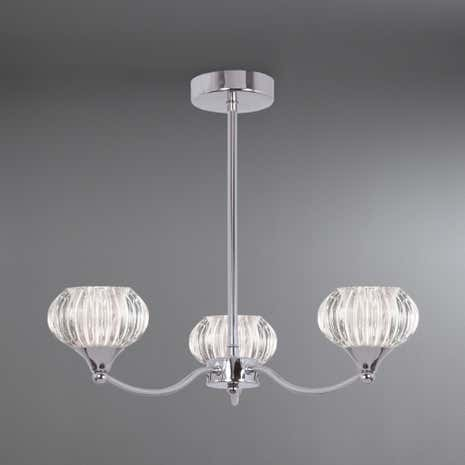 Sofia 3-Light Fitting Chrome