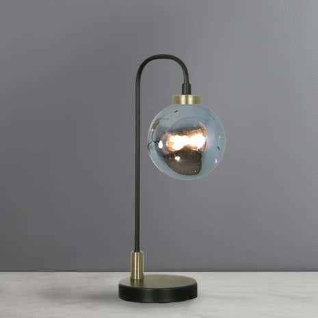 Tanner Black Table Lamp