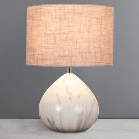 Uma Marble Table Lamp