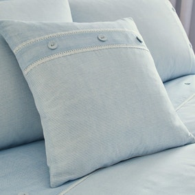 Millie Blue Square Cushion