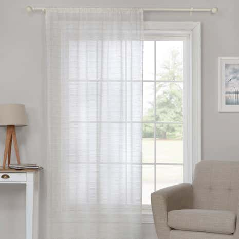 Willow Natural Sheer Voile