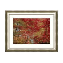 Dorma Autumnal Bridge Framed Print
