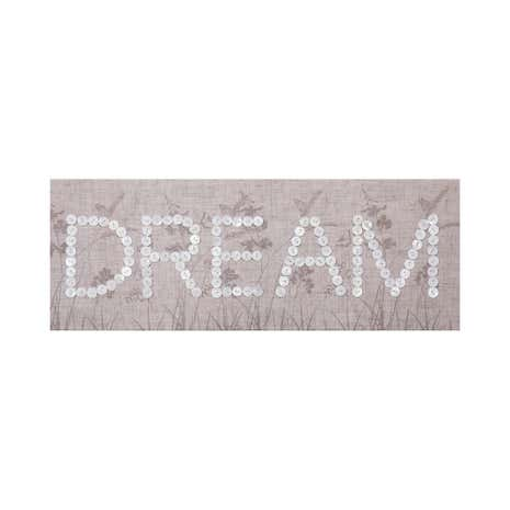 Dream Embellished Canvas