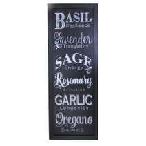 Herbs Wall Plaque