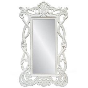 Wooden Carved Wall Mirror