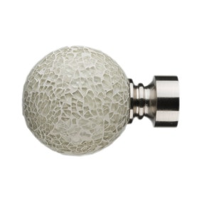 Mix and Match Dia. 28mm Ivory Mosaic Finials