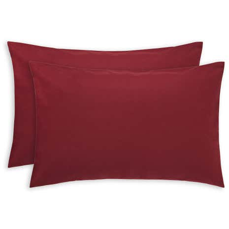 Luxury Brushed Cotton Housewife Pillowcase Pair