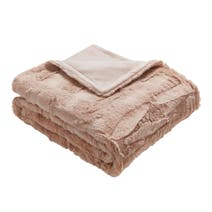 Sienna Blush Throw