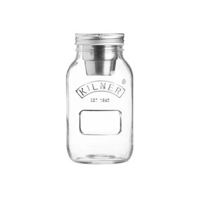 Kilner 1 Litre Jar and Dipping Pot