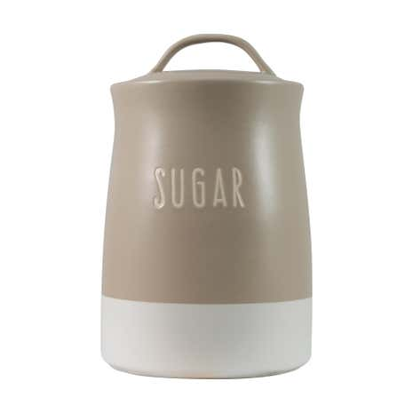 Rustic Romance Dipped Sugar Canister