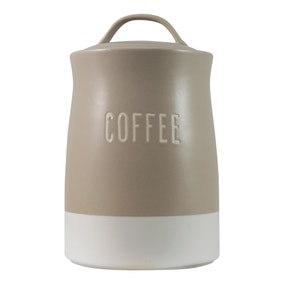 Rustic Romance Dipped Coffee Canister