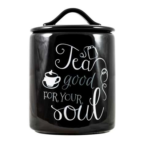 Signature Tea Canister