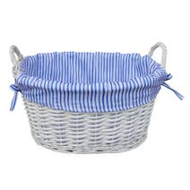 Ditsy Fresh Stripe Basket