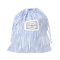 Ditsy Fresh Stripe Drawstring Wash Bag