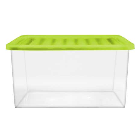 Core Green 27 Litre Storage Box and Lid