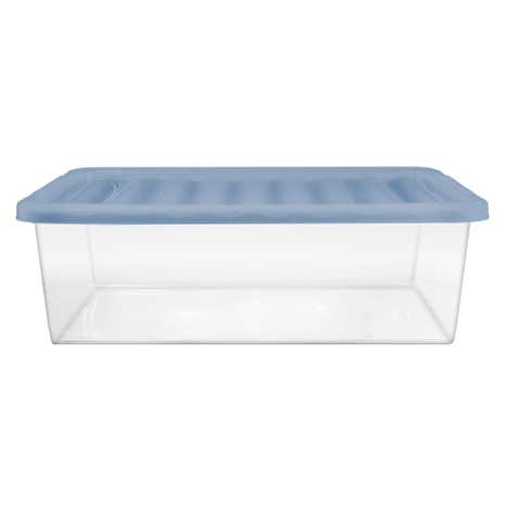 Ditsy Fresh Blue 32 Litre Underbed Box And Lid