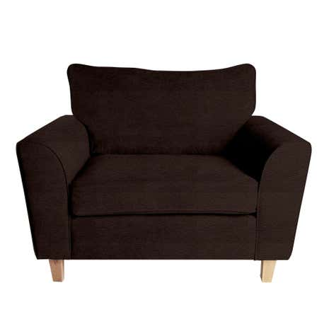 Taylor Leather Snuggle Chair