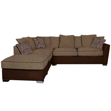 Grosvenor Right Hand Performance and Fabric Corner Sofa