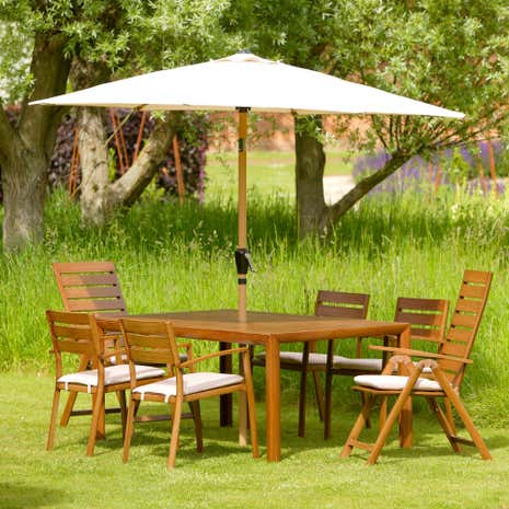 Canberra 8 Piece Dining Set