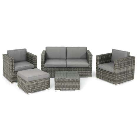 Pacific 5 Piece Sofa Set