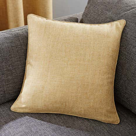 Vermont Ochre Cushion