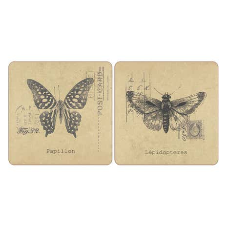 Pack of 4 Butterfly Coasters