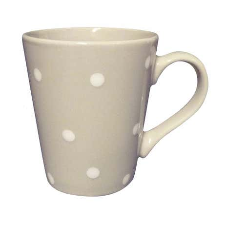 Dotty Grey Mug