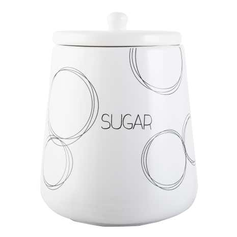 Ellipse Sugar Storage Jar